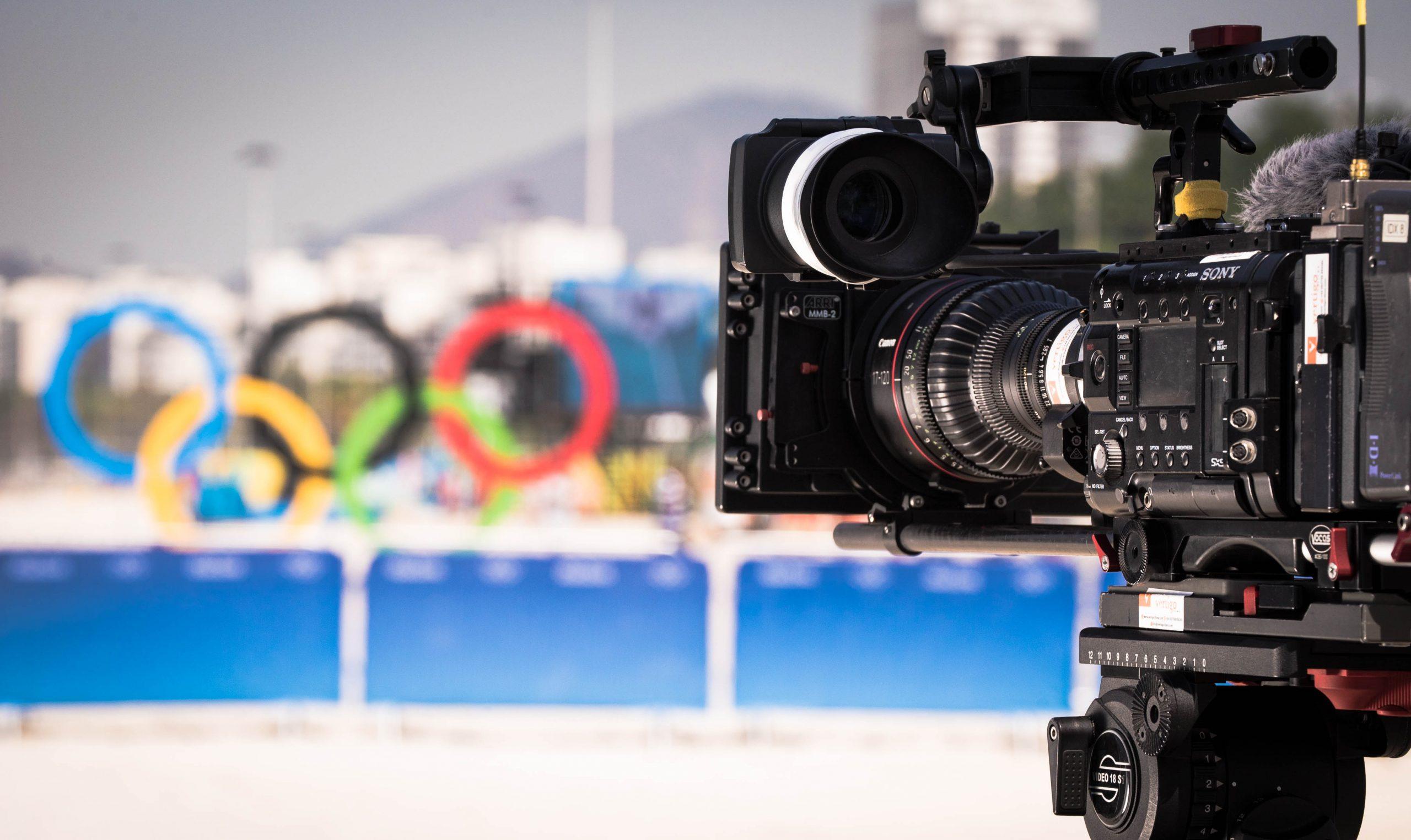 Tim Butt Cameraman Rio Olympics Sony F55 Canon CN7x17 Camera Setup